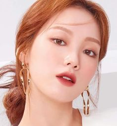 Kim Bok Joo Lee Sung Kyung, Weightlifting Fairy Kim Bok Joo, Korean Makeup, Olay, Kdrama, Makeup Looks, Actresses, Model, Beauty