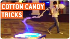 Now THIS is how to spin Candy Floss!  Amazing!