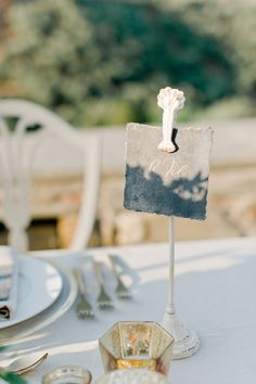 Robert and Joy met in their freshman year of college and they decided to get married in Monemvasia. Got Married, Getting Married, Robert White, Greece Wedding, White Ribbon, Wedding Styles, Wedding Inspiration, Place Card Holders, Joy