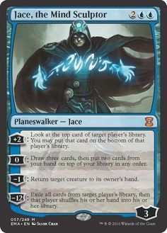 Jace the Mind Sculptor -Eternal Masters NM MTG Magic the Gathering