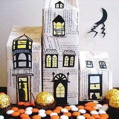 DIY your own decor to bring spookiness to every corner of your house.