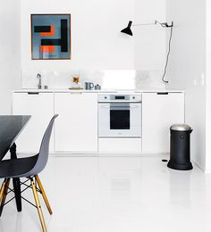 Small kitchens: minimalist. AZ poster, In Love With Typography 1 collection, Playtype.