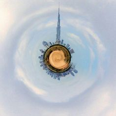 Burj Khalifa is the center of the world