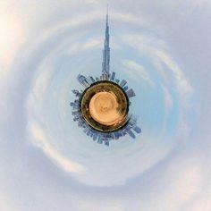 Burj Khalifa is the center of the world