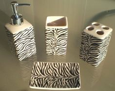 zebra print kitchen accessories zebra print place setting looking for now chic 1705