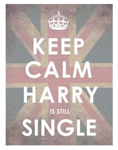 Harry is still single
