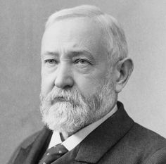 Benjamin Harrison (20/8/1833 - 13/3/1901) was the 23rd President of the United States (4/3/1889 - 4/3/1893)