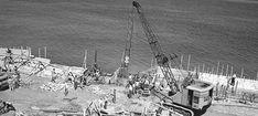 Construccion Malecon Habana - Curiosamente fueron los #americanos y sus Ingenieros Civiles de la Marina de guerra, en conjunto con el ejército #estadounidense que construyó los 2 primeros tramos del #Malecón de #LaHabana. www.ElMalecón.com