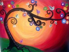 Whimsey Tree - Painting with a Twist