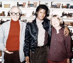 #MichaelJackson with Ward and Betty Kimball, 1987/1988
