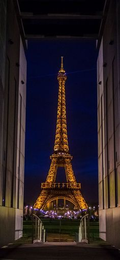 ♚ Eiffel Tower at Night
