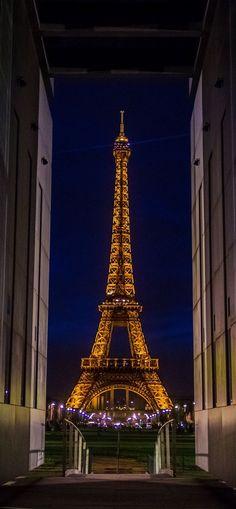 ♚ Eiffel Tower at Night