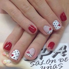 50+ GORGEOUS NAIL DESIGNS FOR VALENTINE'S DAY - Wonder Cottage