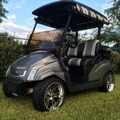 311 best Golf Carts images on Pinterest in 2018 | Golf carts, Cars Best Golf Cart To Customize Of White Red Black Custom Ezg Metrolina Carts Html on