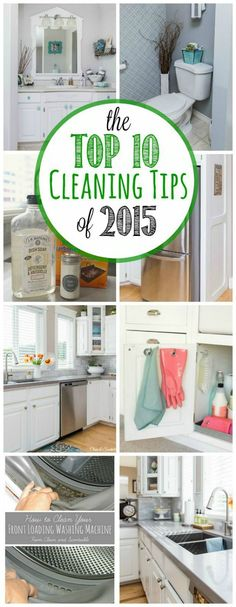 Awesome cleaning tips for every room in your home. A must read!