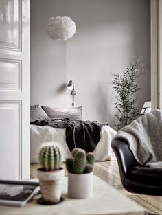 Harmonious Scandinavian Apartment With Musical Instruments In Decor | DigsDigs