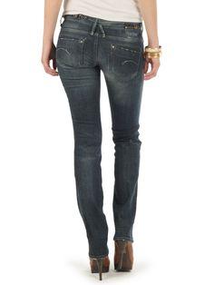 G-Star Midge Dover Straight Jeans medium aged € 139.00 | Haburi.com | Free shipping for orders above 80€