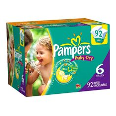 Pampers Swaddlers Newborn Diapers Size 1 (8–14 lb), 216 Count