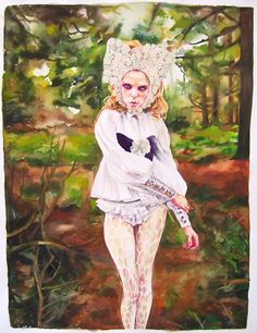 Marx & Zavattero - Fabrications, a drawing exhibition featuring Libby Black, Jennifer Celio, Serena Cole, Melissa Manfull, & Taravat Talepasand