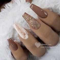 new years nails \ new years nails ; new years nails acrylic ; new years nails gel ; new years nails glitter ; new years nails dip powder ; new years nails design ; new years nails short ; new years nails coffin Aycrlic Nails, Cute Nails, Pretty Nails, Toenails, Marble Acrylic Nails, Fall Acrylic Nails, Acrylic Nail Designs Coffin, Chrome Nails Designs, Colored Acrylic Nails