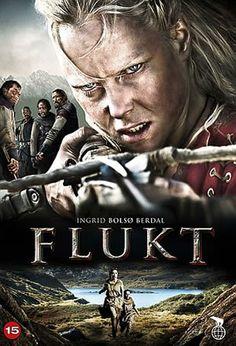 """Menekülés (2012) Flukt, """"Fuga"""" 2012, Uma fábula sobre uma garota que é perseguida por uma gangue de saqueadores e tenta vingar a morte da sua família."""