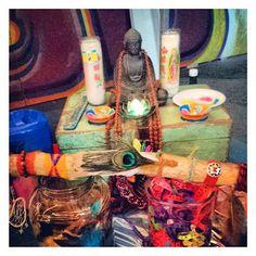 ♥ Milagros Mundo on location ♥ Good vibes at Moderne Hippies Afgelopen weekend stond Milagros Mundo op locatie in Ams. Hippy Girl, Hippy Room, Diy Artwork, Funky Art, Balcony Ideas, Hippie Festival, Boho Diy, Happy Things, Dreamcatchers