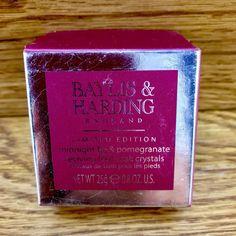 Baylis & Harding England Limited Edition Midnight Fig & Pomegranate Foot Soak Foot Soak, Pomegranate, Fig, Health And Beauty, England, Ebay, Granada, Pomegranates, Ficus