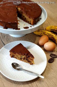 Quand les bananes mûrissent trop vite à la maison, elles finissent toujours dans un gâteau, des pancakes ou un porridge au petit déjeuner. Cette fois-ci, j'ai testé la recette de Laurent Mariotte, le gâteau est hyper moelleux. quand à la couche de chocolat,...
