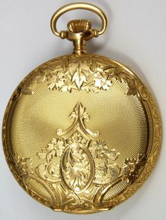 Elite Decorative Arts pocket watch gold