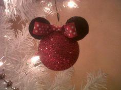 Styrofoam Mickey Ornament 5