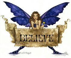Amy Brown Art- Believe II