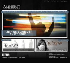 Website Template Prelim Design by: testamentdesign.com