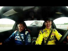 Scion Racing's Ken Gushi met up with Toyota Racing's Joey Logano at Charlotte Motor Speedway in North Carolina to give him a drifting lesson in the Scion FR-S.