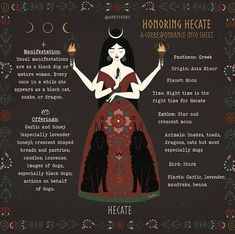 Wiccan Spells, Magick, Wiccan Magic, Hecate Goddess, Shadow Wolf, Witch Spell Book, Grimoire Book, Eclectic Witch, Triple Goddess