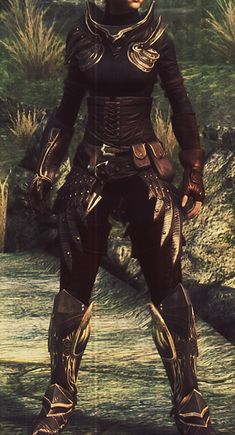 skyrim elven armor female - Google Search