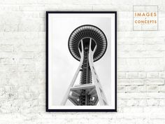 03 – SEATTLE SPACE NEEDLE – PRINTABLE DOWNLOAD  As you walk under the Seattle Space Needle, its size and magnitude is awe inspiring. Enjoy memories from Seattle with this Black and White Modern digital print.  This high-resolution PRINTABLE art is available as an instant download immediately after your payment is processed. Decorate your walls with home decor in minutes!  Your purchase with Images and Concepts means you will receive beautiful art instantly at a nominal cost. Moreover, you…