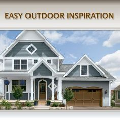 Ideas For Exterior House Colors - Style & Designs | Style & Designs