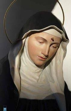 St Rita of Cascia | www.saintnook.com/saints/ritaofcascia |  St. Rita of Cascia