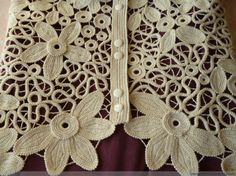 Irish crochet Crochet Chain, Freeform Crochet, Crochet Lace, Tatting, Irish Crochet Patterns, Romanian Lace, Russian Crochet, Point Lace, Lace Outfit