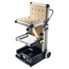 Festool Mobile Workshop MW 1000 Basic from category Workplace and organization with right of return, warranty at Dictum Workbench Tool Box, Festool Tools, Festool Systainer, Workbench Ideas, Rolling Tool Box, Mobile Workshop, Mobile Storage, Extension Table, Pull Out Drawers