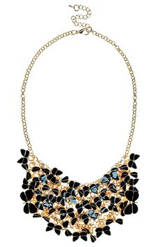 Louche Butterfly Statement Necklace