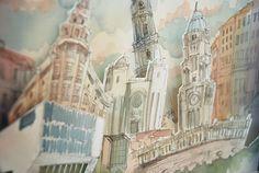 archillustration Porto on Behance