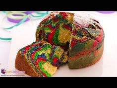 Torta arlecchino - YouTube