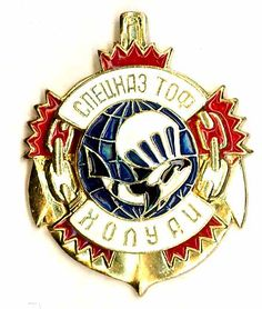 GRU. Special Forces of the Pacific Fleet. Holuay.
