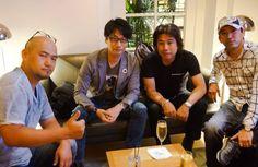 Left to Right: Hideki Kamiya (Okami, Bayonetta), Hideo Kojima (Metal Gear, Snatcher), Tetsuya Minami (Platinum Games) and Shinji Mikami (Resident Evil, Vanquish, The Evil Within)