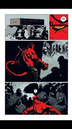 Dark Comics, Bd Comics, Comic Book Pages, Comic Books Art, Mike Mignola Art, Comic Layout, Graphic Novel Art, Western Comics, Comic Drawing