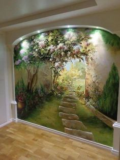 Wall painting.....