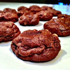 """Favorite Chocolate Peanut Butter Cookies 