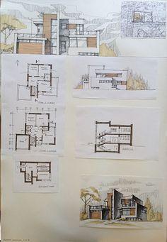 denah dan desain rumah modern minimalis