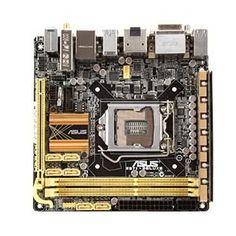 Asus Z87I-Deluxe LGA 1150 Intel Z87 Mini ITX Motherboard by Asus, http://www.amazon.com/dp/B00E39E6FE/ref=cm_sw_r_pi_dp_8eglsb0RMXM5G